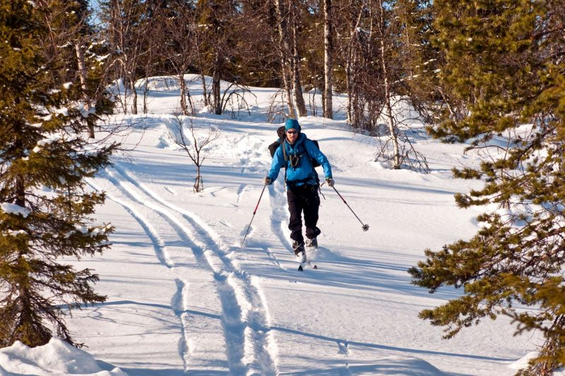swedish lapland arctic retreat cross country skiing
