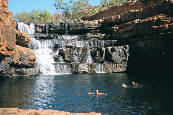 western australia kimberley swimming at bell gorge apt