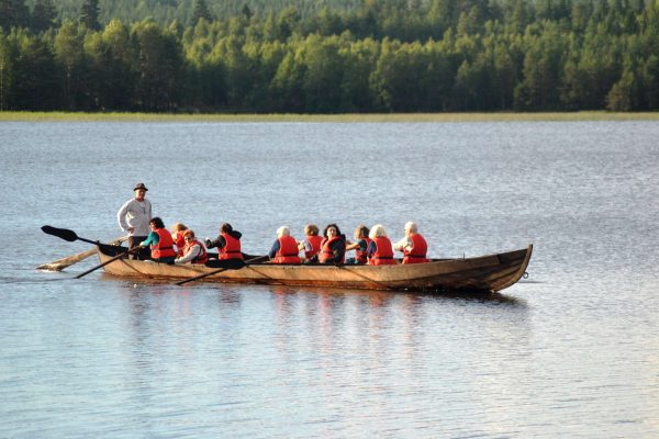 eastern finland hotel kalevala church boat tour