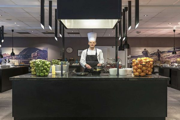 norway clarion oslo airport kitchen chef