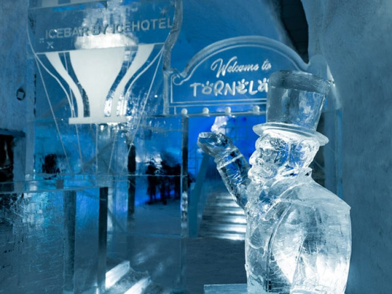 icebar at icehotel torneland by mathieu brison and luc voisin ak