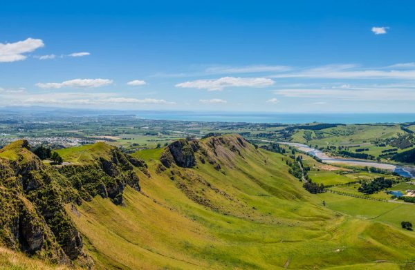 new zealand hawkes bay view from te mata peak istk