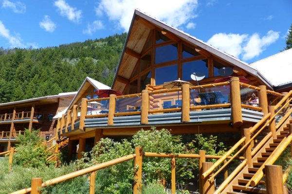 british columbia tyax lodge deck