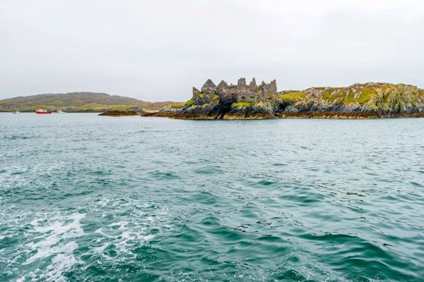 ireland inishbofin dun grainne cromwells ruined fort istk