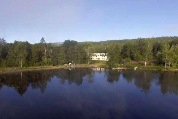 varmland fyrbo guesthouse drone view