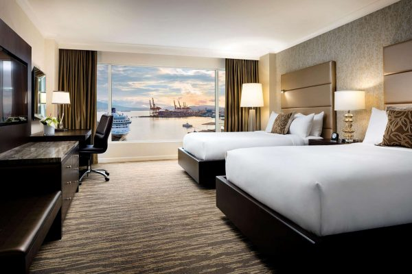 bc fairmont waterfront vancouver signature harbour east