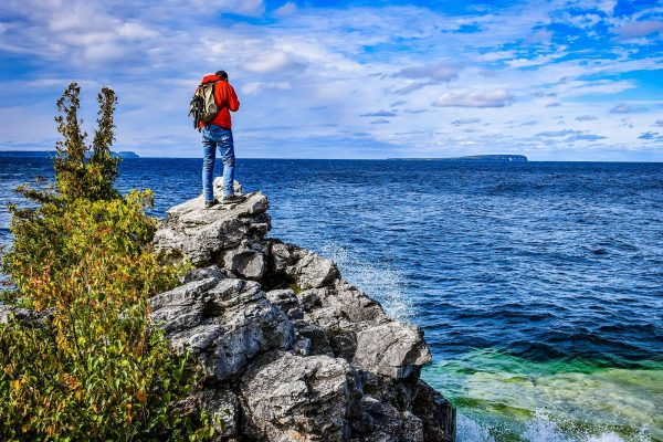 ontario view from bruce peninsula istk