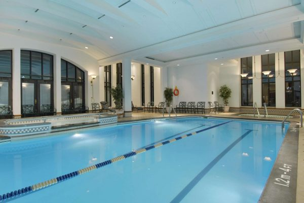 quebec fairmont chateau frontenac indoor pool