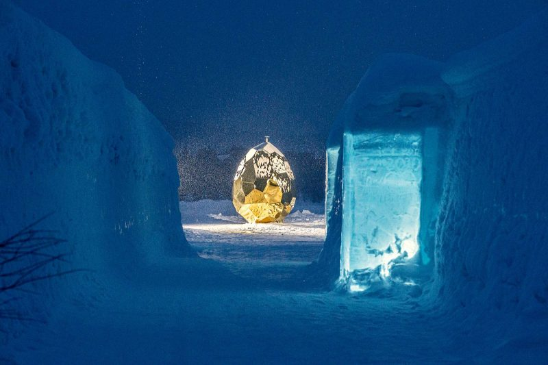 swedish lapland solar egg at icehotel 30 akliger 1