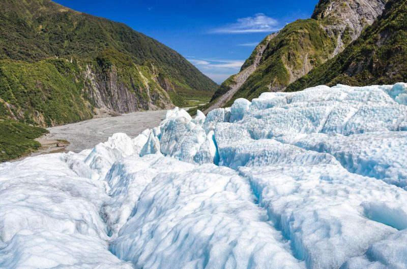 new zealand fox glacier west coast astk
