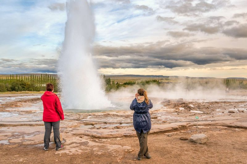 south west iceland geysir watching strokkur erupt rth