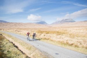 cycling arran islay jura open road