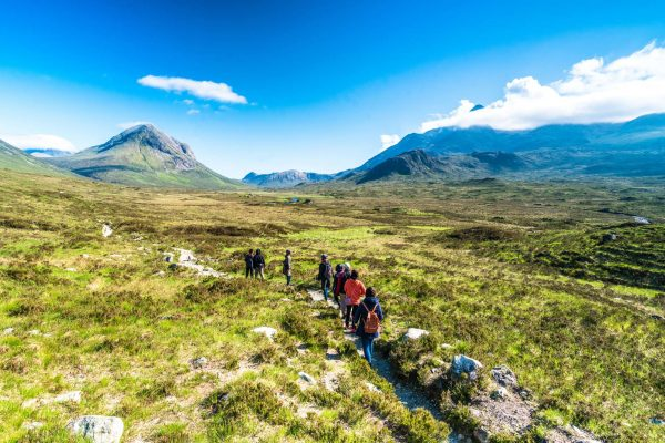 scotland torridon hill walkers istk