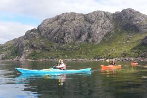 sea kayaking scottish highlands kayakers