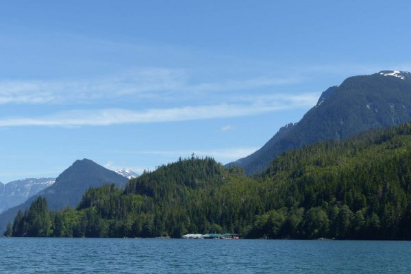 canada british columbia knight inlet scenic view ll