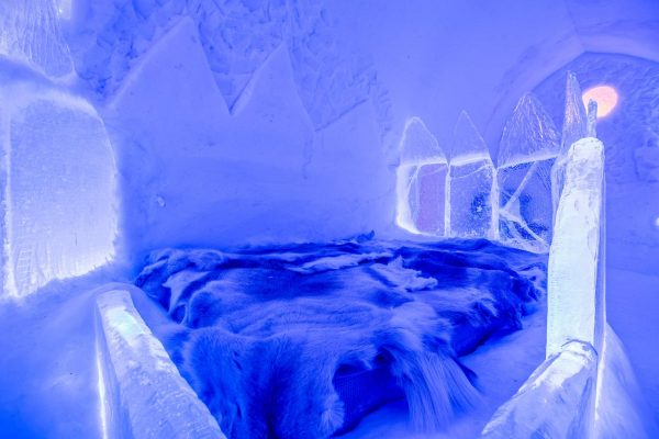 norway finnmark alta sorrisniva igloo hotel ice room