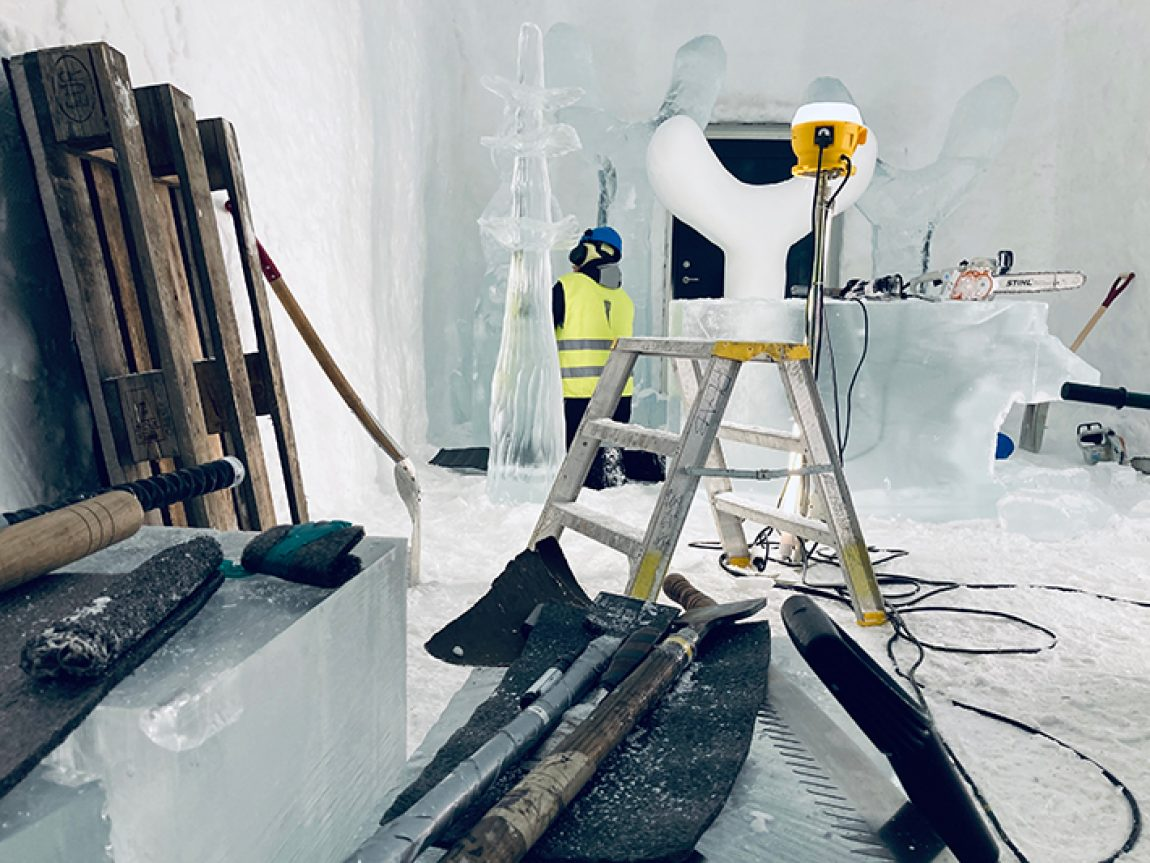 icehotel 365 suite in build lotta and julia ih