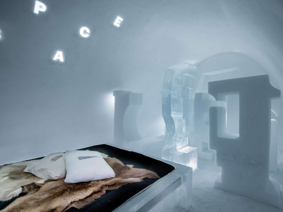 icehotel31 art suite a journey into letterspace by john bark and charli kasselback ak
