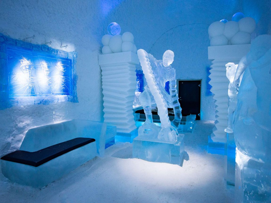 icehotel365 art suite hang loose by edith van de wetering and wilfred stijger ak