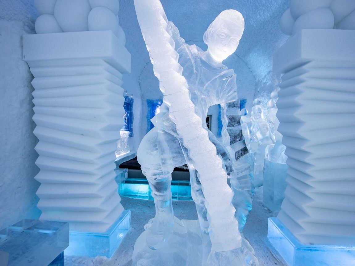 icehotel365 art suite hang loose detail ak